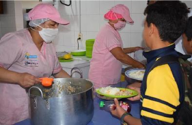 Abierta licitación pública para contratar el servicio de implementación del programa de alimentación escolar